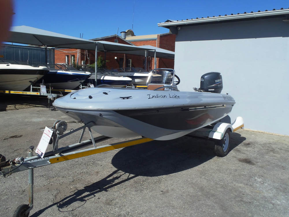 6 5m Pontoon Boat with 60hp Mercury CT Four stroke - Tait Marine